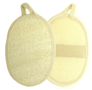 Why we love natural loofas: These loofas are naturally antibacterial and hypoallergenic. The sponge scrubbers are gentle on dry, damaged or irritated skin and help alleviate clogged pores. These are inexpensive and can prevent ingrown hairs