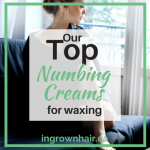 Out top numbing creams for waxing