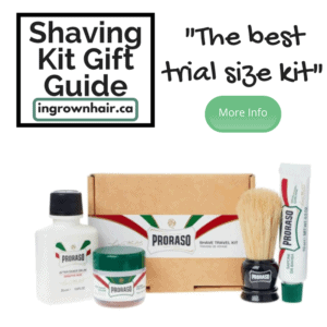 """We love this little trial size kit so we have included it on or blog """"Shaving kits are the perfect gift idea"""""""