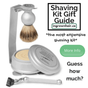 Shaving kits are the perfect gift idea. This is the most expensive shaving kit on our gift guide . Can you guess how much it costs?