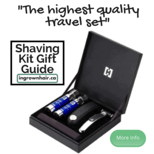 """This is the highest quality of our """"Shaving kits are the perfect gift idea"""" series"""