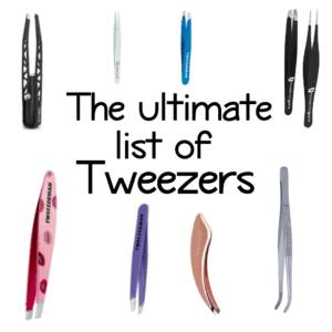 The ultimate list of tweezers