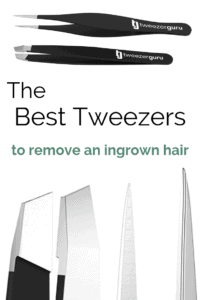 How to remove in an ingrown hair with the best tweezers