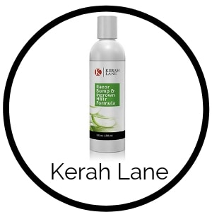 Kerah Lane How to relieve razor bumps