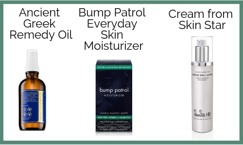 Moisturize your skin with a good quality unscented lotion.How to relieve razor bumps-