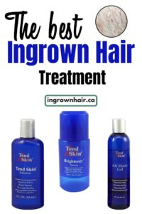 Tend skin is one of the best ingrown hair lotions.