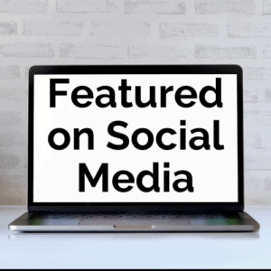 Products featured on social media